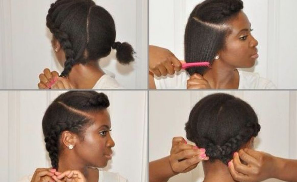 Extraordinaire TUTO : les meilleures coiffures protectrices naturelles KM-34