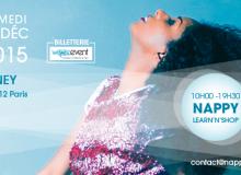 Agenda: l'événement Nappy Days Event c'est le 12 décembre