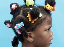 Une photographe saisit la beauté des coiffures enfants afro !
