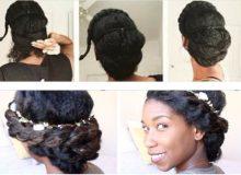 TUTO : 5 chignons de fêtes à réaliser sur cheveux crépus