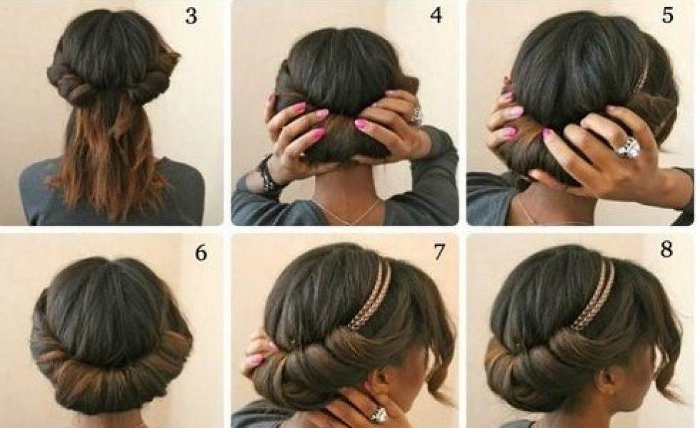 Tuto 7 Chignons De Fetes A Realiser Sur Cheveux Afro Lisses