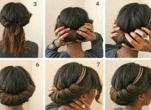 TUTO : 7 chignons de fêtes à réaliser sur cheveux afro lissés