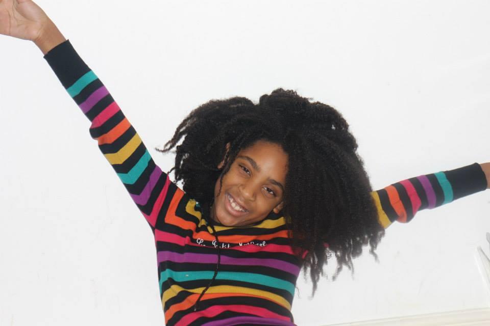 (c) La fille de Salem Ayesha, auteur de la chaîne The Heaven Berry