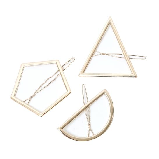 Pimpie barrettes géométriques