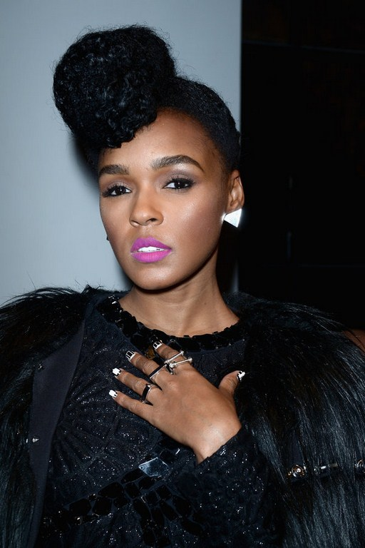 Janelle Monae Paris Fashion Week SS 2016