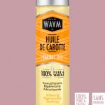 Actualités coiffure afro : lancement de l'huile de carotte WAAM