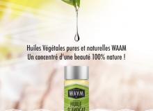 Must-have : Les huiles végétales de WAAM