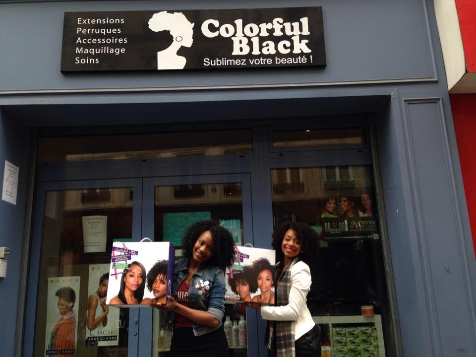 colorful black boutique