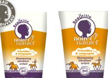 Produits enfants Noire O Naturel : lancement de la gamme Sapotille !