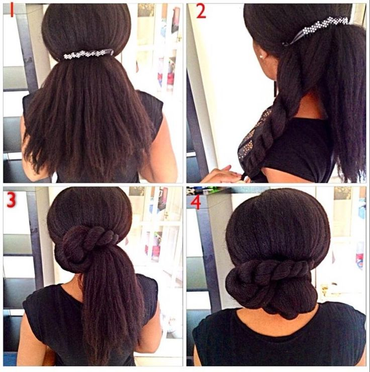 cheveux lisses afro