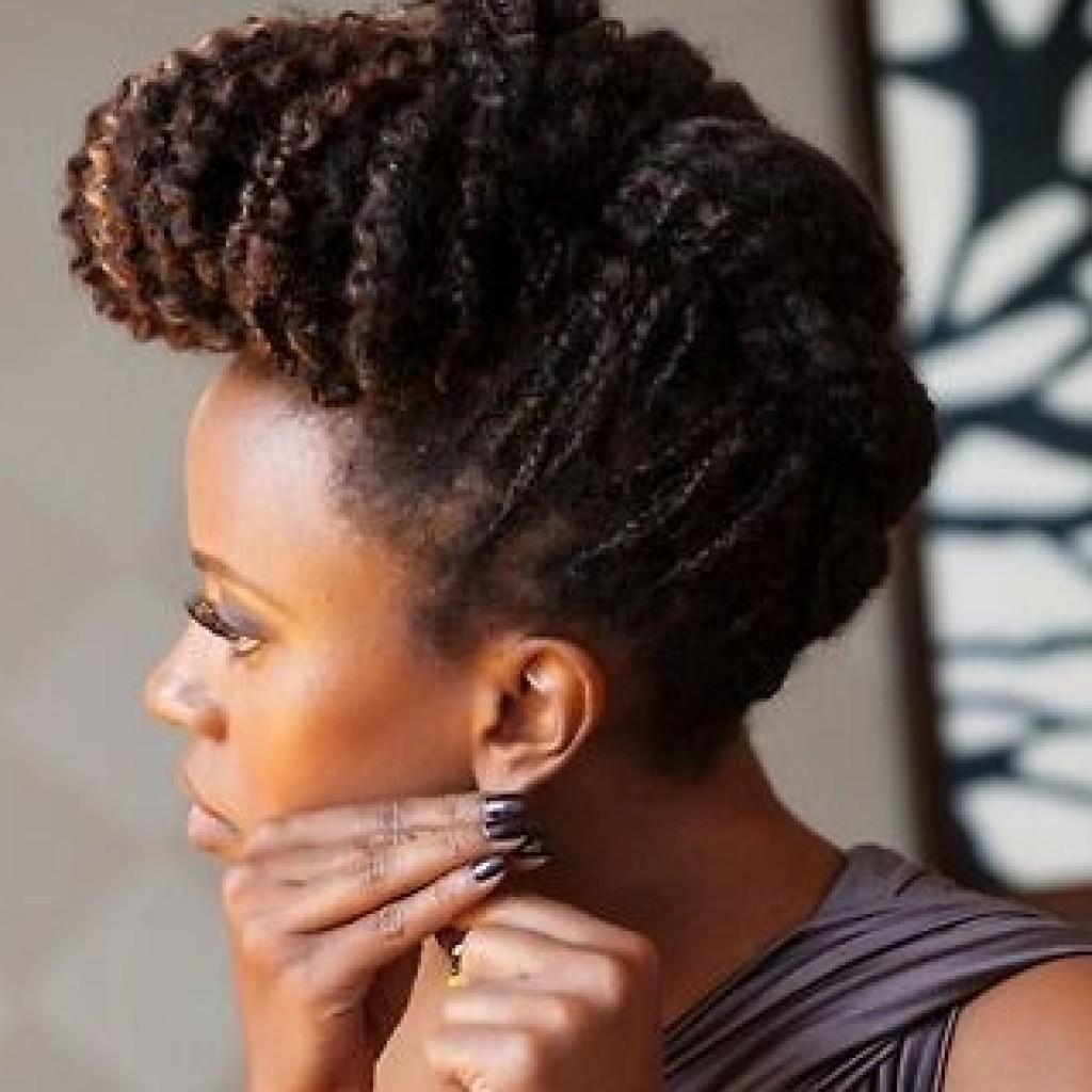 coiffure de fêtes afro