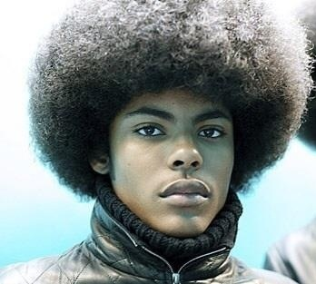 coiffures afro homme