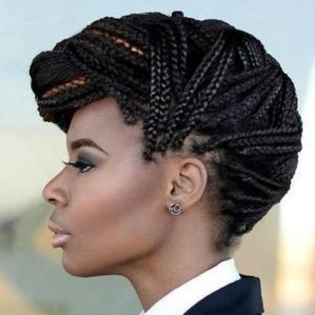 coiffures de fêtes afro