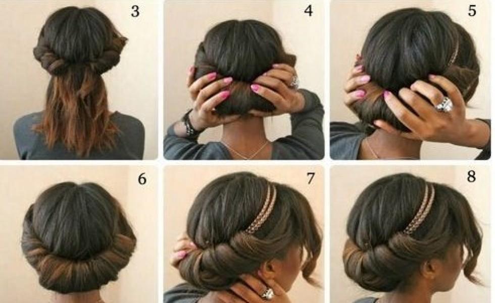 Comment faire un beau chignon avec cheveux long