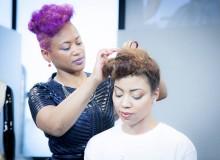 Murielle Kabile : entre haute coiffure et DIY