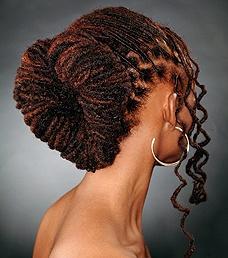 idées de coiffures afro pour la saint valentin