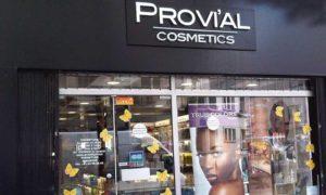 Boutique Provial cosmetics à Paris 20 ème