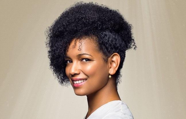 Cheveux afro naturels parfaitement définis avec Nappy Queen