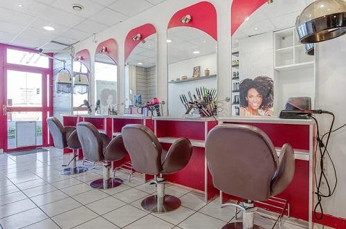 Intérieur salon Hollycurl à Noisy le Sec (93)